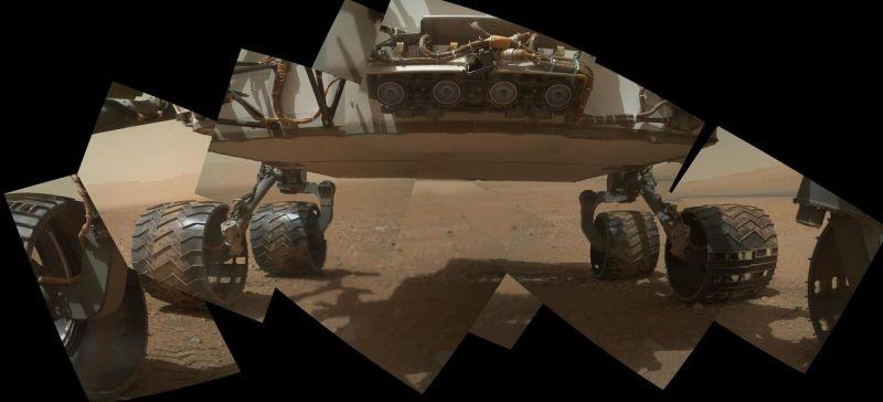 A NASA tem um plano para solucionar o grave desgaste das rodas do Curiosity