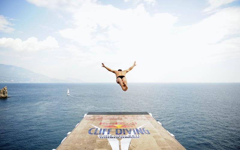Concurso mundial de mergulhos de penhascos 01