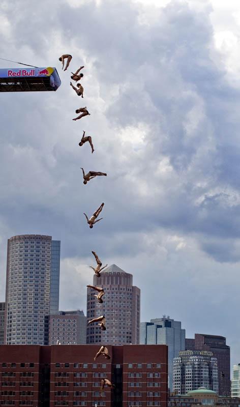 Concurso mundial de mergulhos de penhascos 07