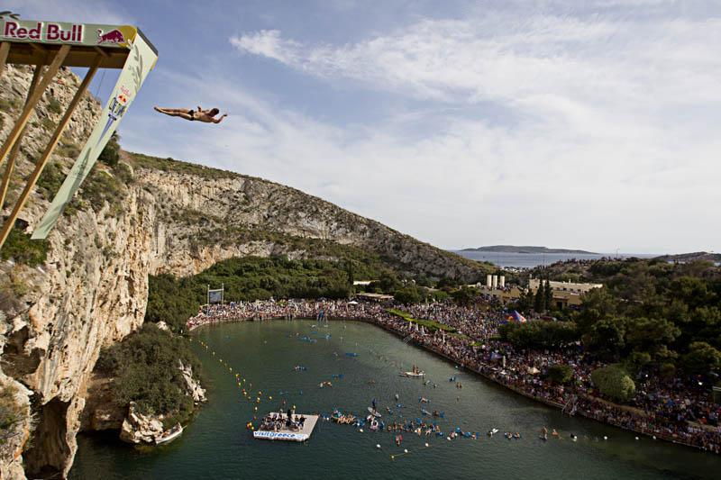 Concurso mundial de mergulhos de penhascos 11