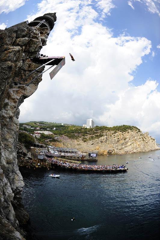 Concurso mundial de mergulhos de penhascos 19