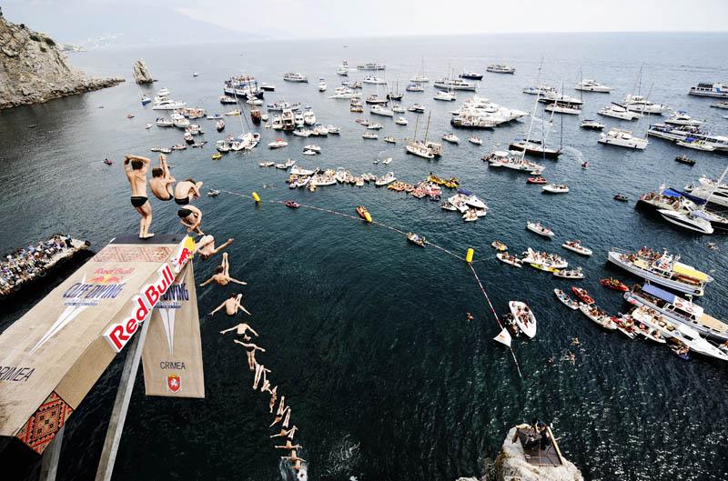 Concurso mundial de mergulhos de penhascos 20