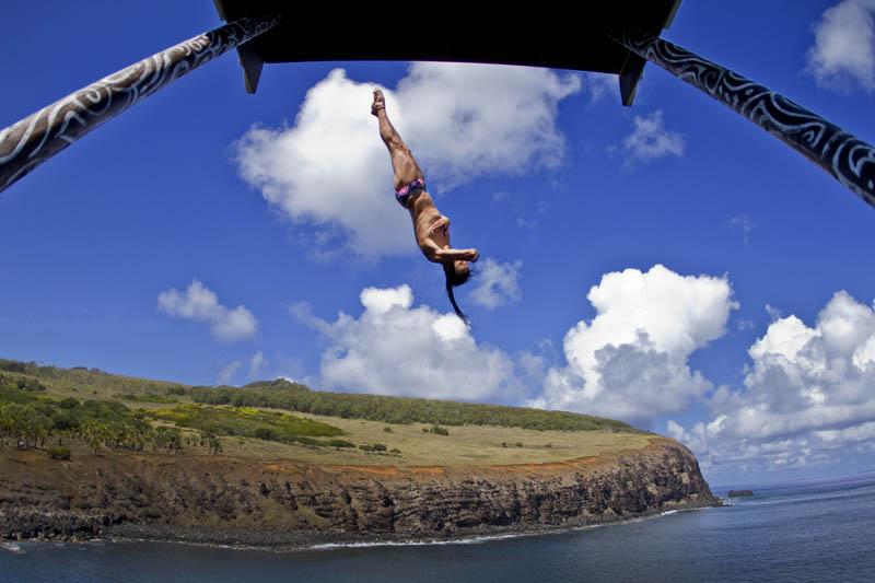 Concurso mundial de mergulhos de penhascos 25