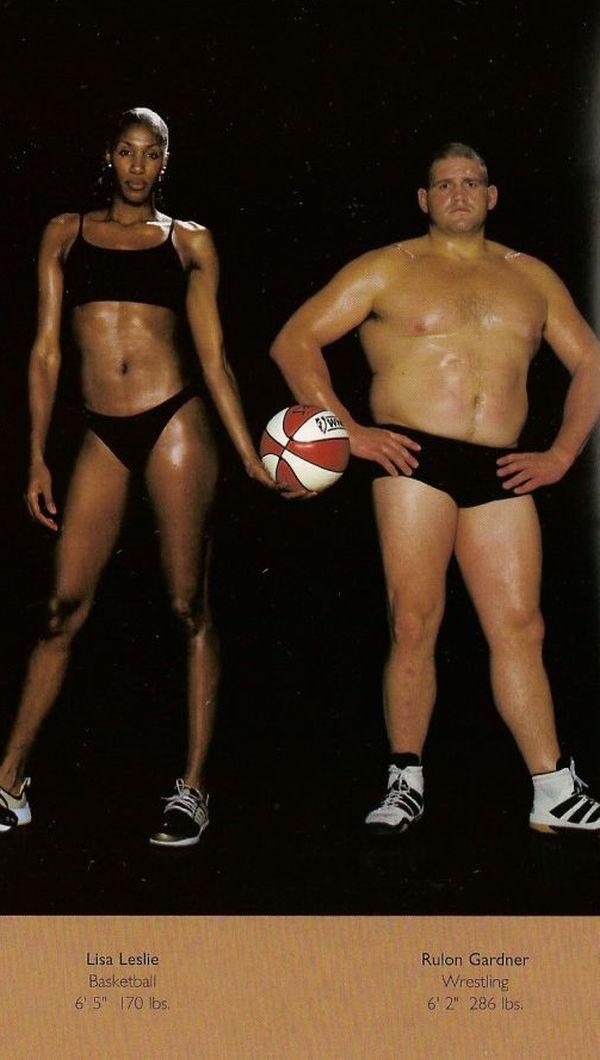 Diferentes esportes supõem diferentes tipos de corpos 02
