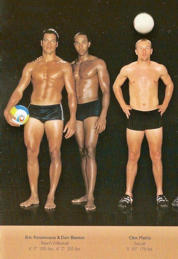 Diferentes esportes supõem diferentes tipos de corpos 03