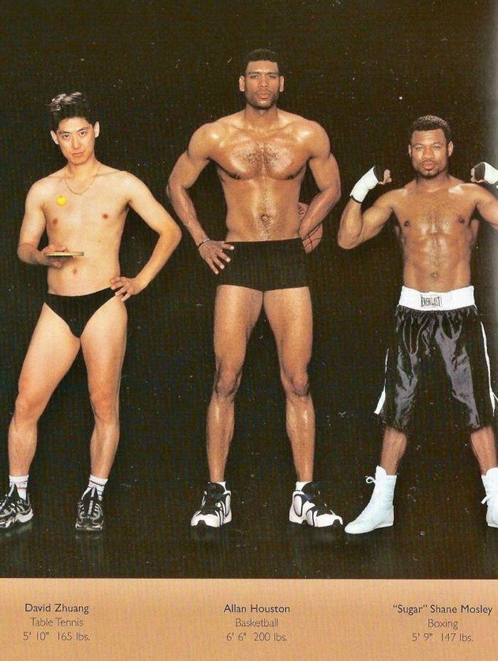 Diferentes esportes supõem diferentes tipos de corpos 04
