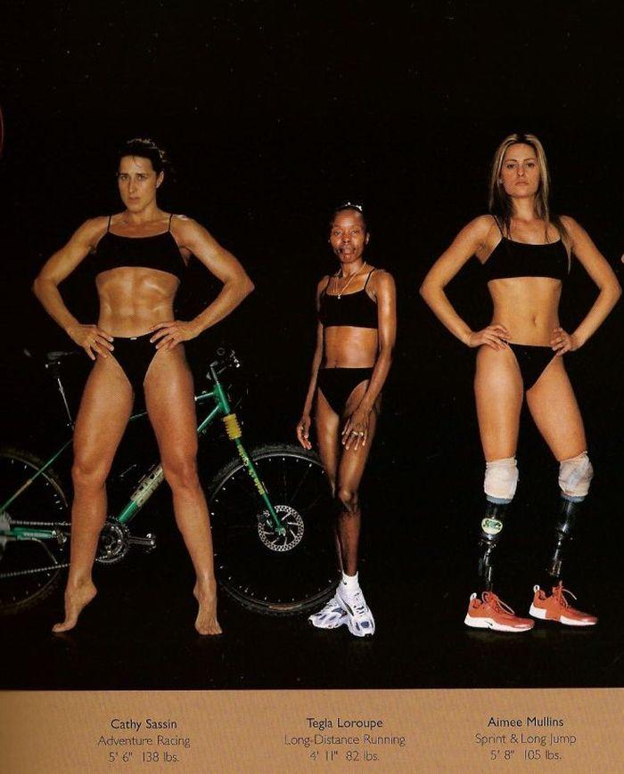 Diferentes esportes supõem diferentes tipos de corpos 05