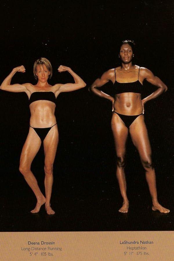Diferentes esportes supõem diferentes tipos de corpos 06