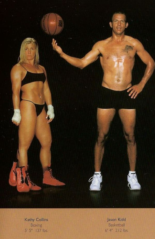 Diferentes esportes supõem diferentes tipos de corpos 09