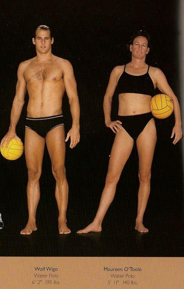 Diferentes esportes supõem diferentes tipos de corpos 12