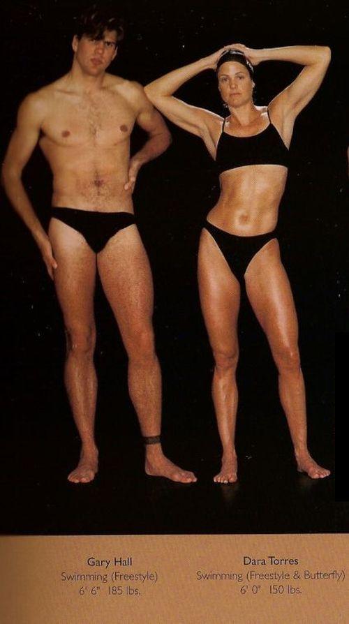 Diferentes esportes supõem diferentes tipos de corpos 15