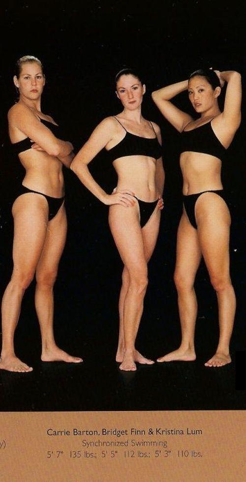Diferentes esportes supõem diferentes tipos de corpos 16