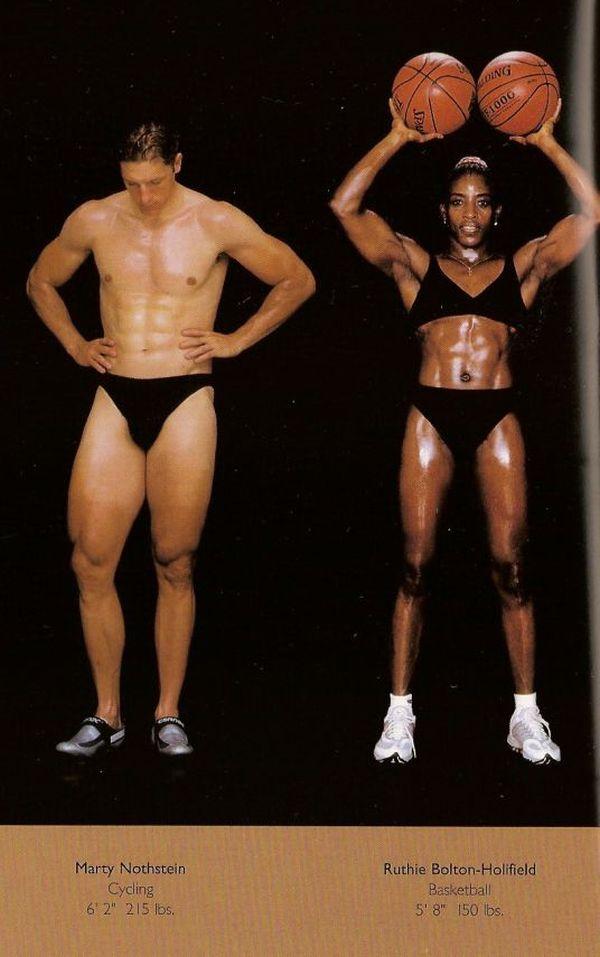 Diferentes esportes supõem diferentes tipos de corpos 21