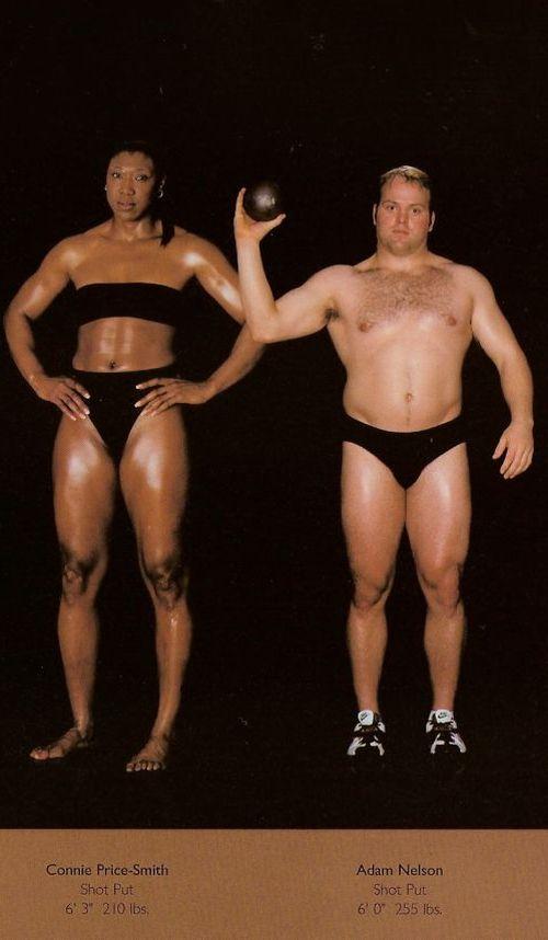 Diferentes esportes supõem diferentes tipos de corpos 23