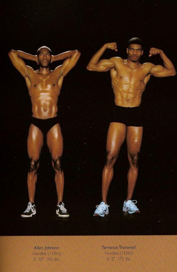Diferentes esportes supõem diferentes tipos de corpos 24