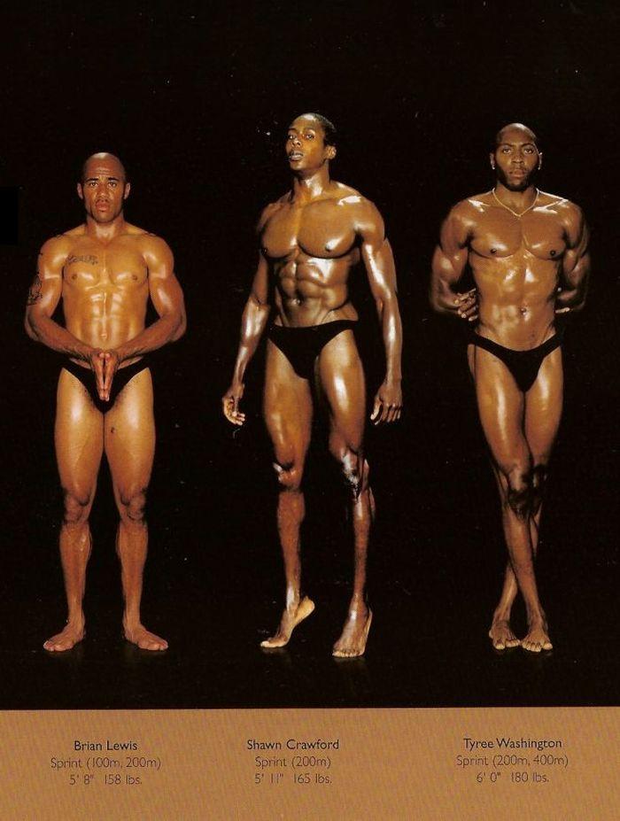 Diferentes esportes supõem diferentes tipos de corpos 25