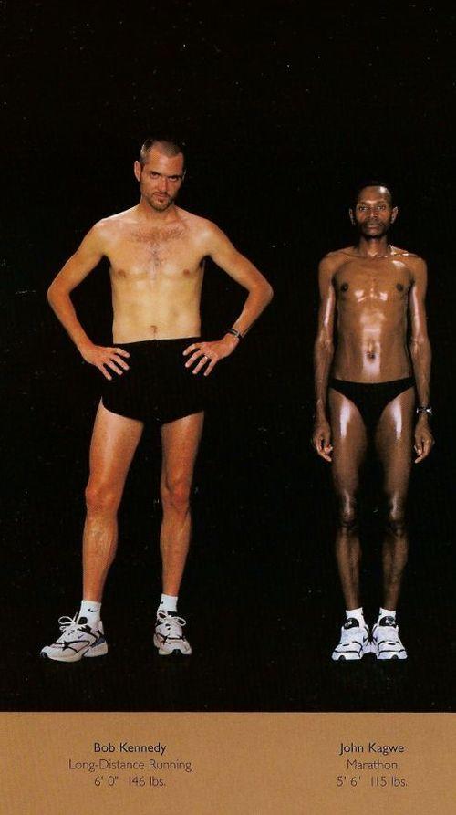 Diferentes esportes supõem diferentes tipos de corpos 26