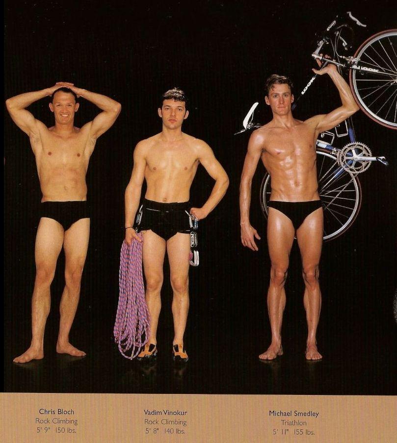 Diferentes esportes supõem diferentes tipos de corpos 29