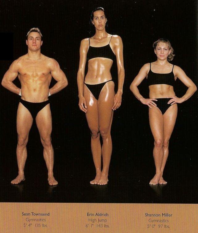 Diferentes esportes supõem diferentes tipos de corpos 31