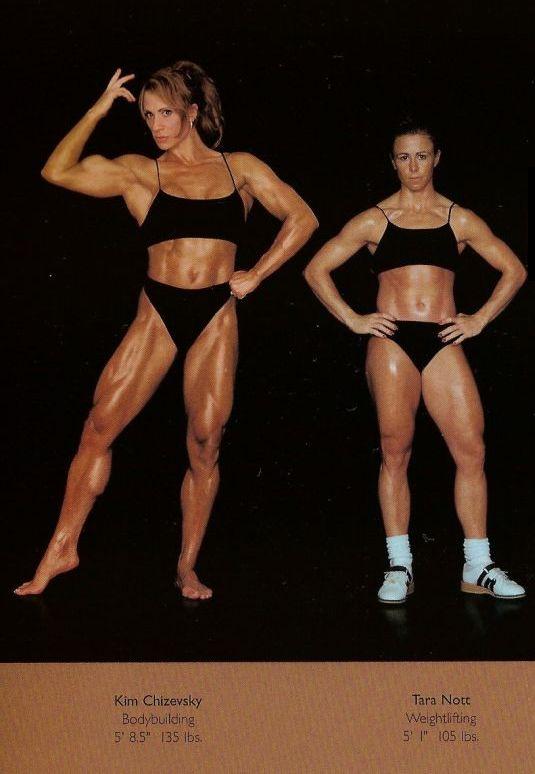 Diferentes esportes supõem diferentes tipos de corpos 34