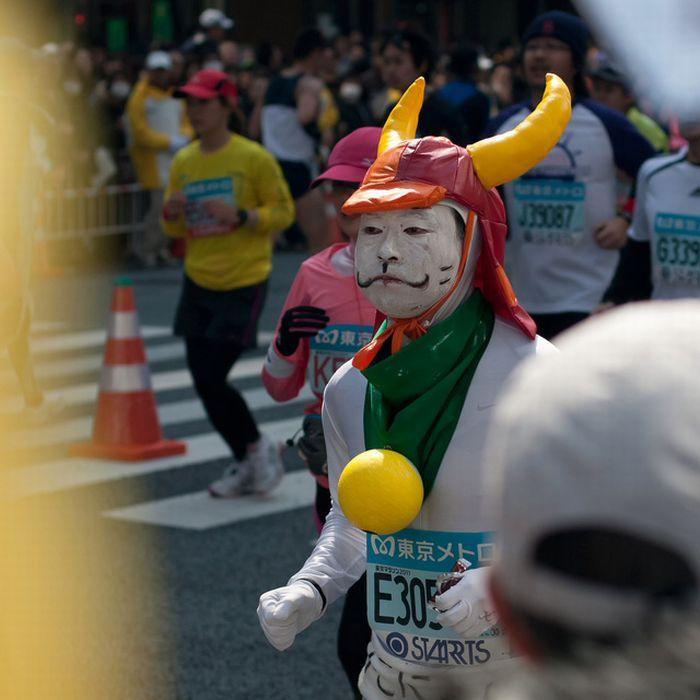 As fantasiuas da Maratona de Tóquio 03