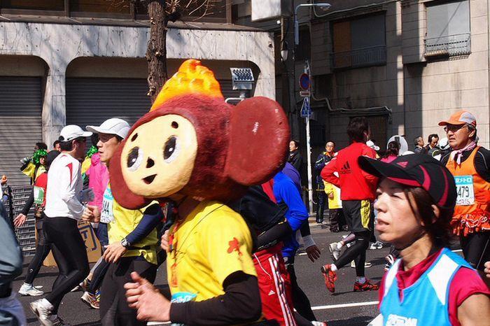 As fantasiuas da Maratona de Tóquio 08