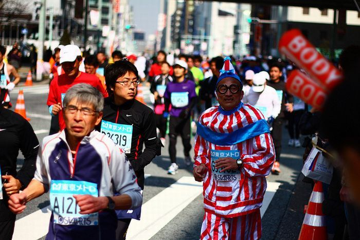As fantasiuas da Maratona de Tóquio 16