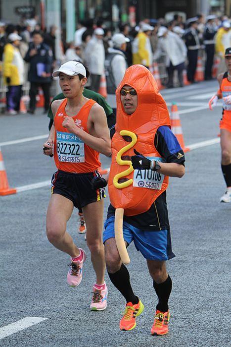 As fantasiuas da Maratona de Tóquio 19
