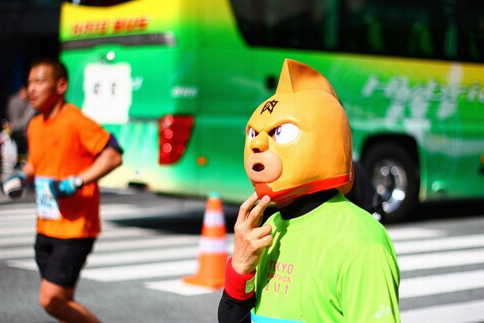 As fantasiuas da Maratona de Tóquio 26
