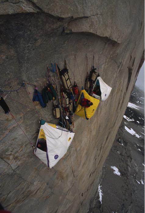 As barracas pendentes do montanhismo 02