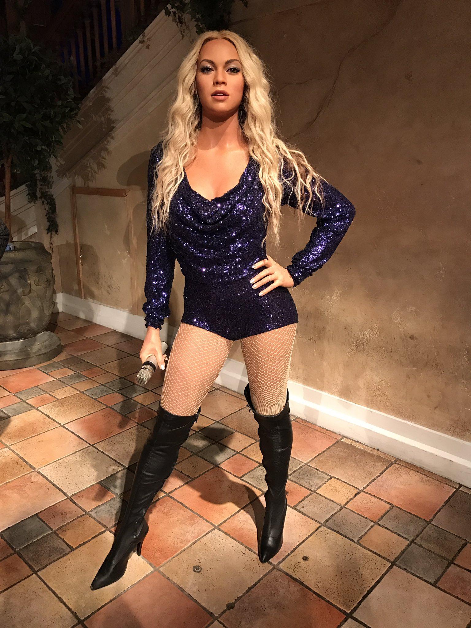 Museu Madame Tussauds modifica a polêmica estátua de cera da Beyoncé caucasiana