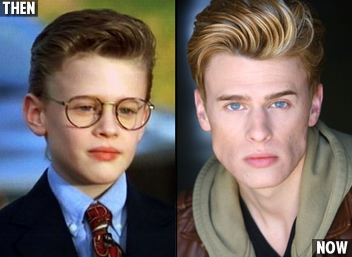 Jovens atores - Ontem e hoje