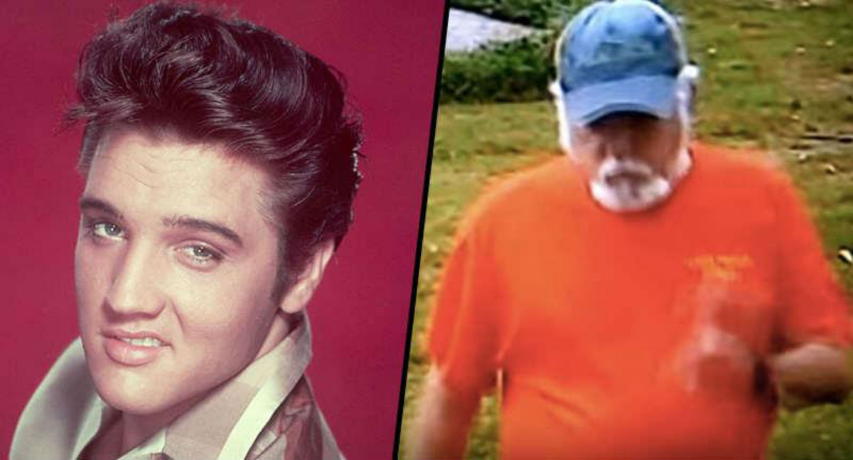 Há pessoas convencidas de que Elvis Presley está vivo e é este homem