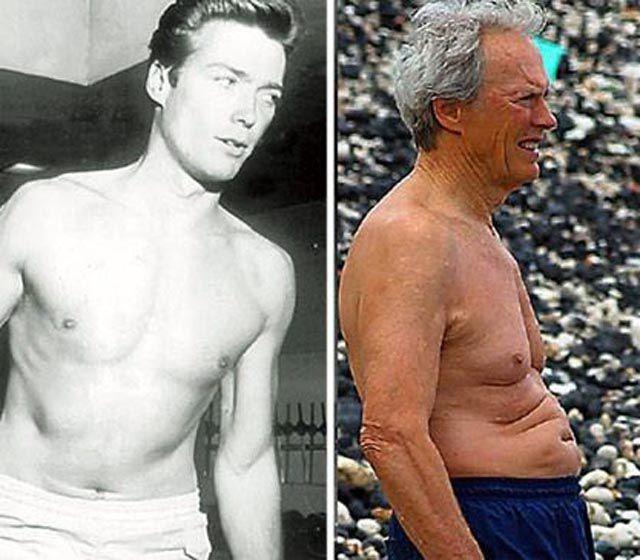 Famosos, antes e depois 2