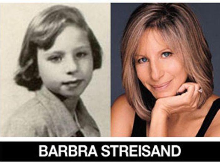 Um post quase definitivo de antes e depois de famosos 13
