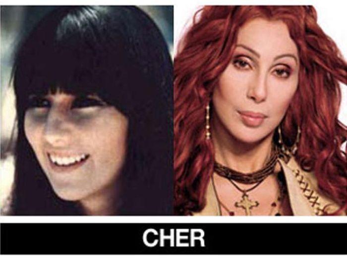 Um post quase definitivo de antes e depois de famosos 15
