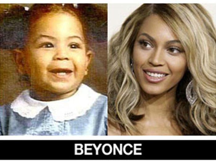Um post quase definitivo de antes e depois de famosos 16