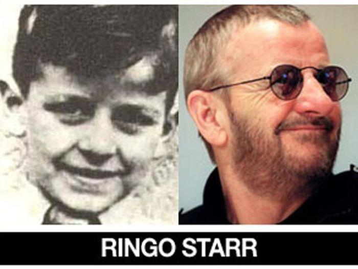 Um post quase definitivo de antes e depois de famosos 17
