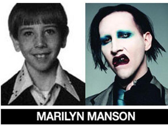 Um post quase definitivo de antes e depois de famosos 18