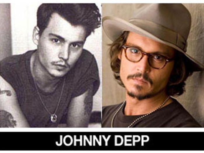 Um post quase definitivo de antes e depois de famosos 21
