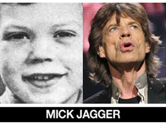 Um post quase definitivo de antes e depois de famosos 32