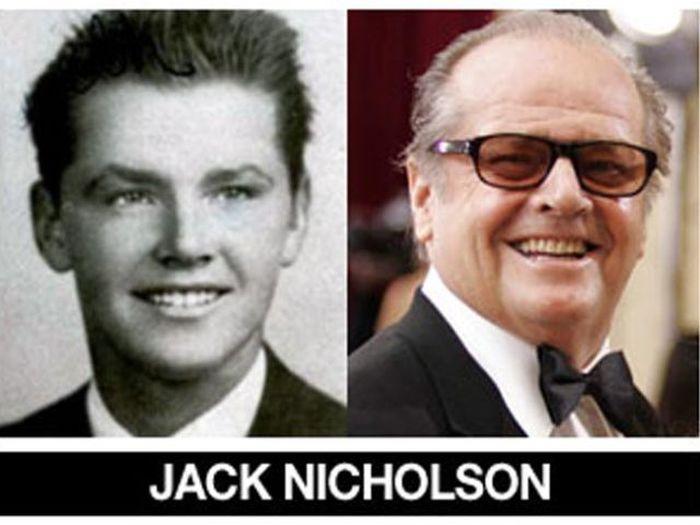 Um post quase definitivo de antes e depois de famosos 34