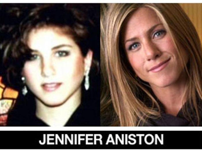Um post quase definitivo de antes e depois de famosos 36
