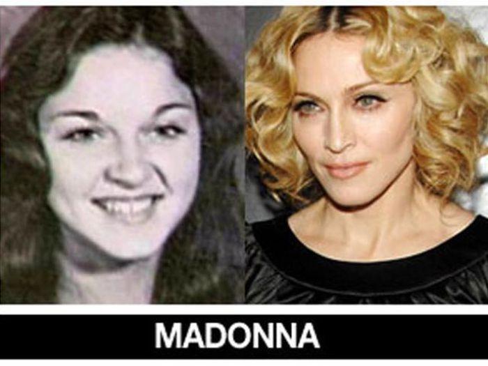 Um post quase definitivo de antes e depois de famosos 49