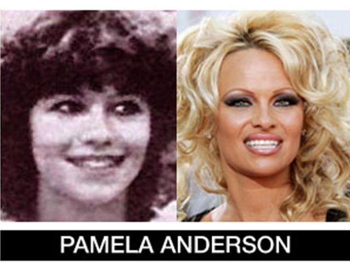 Um post quase definitivo de antes e depois de famosos 55