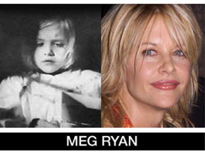 Um post quase definitivo de antes e depois de famosos 56