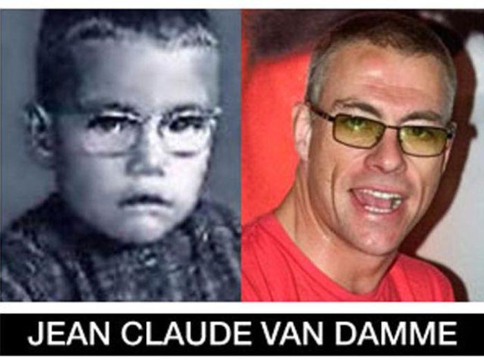 Um post quase definitivo de antes e depois de famosos 68