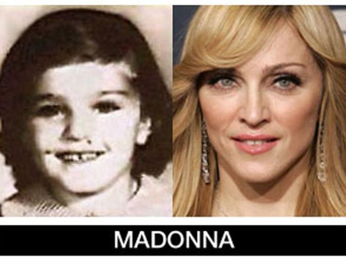Um post quase definitivo de antes e depois de famosos 71