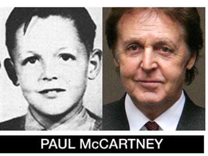 Um post quase definitivo de antes e depois de famosos 76