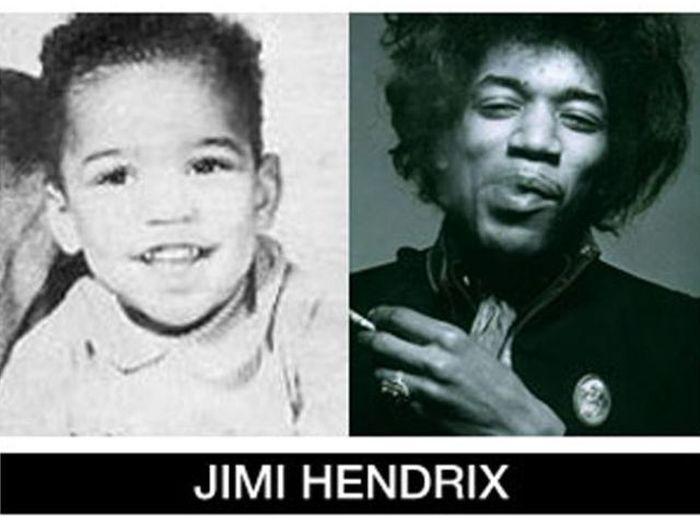 Um post quase definitivo de antes e depois de famosos 83